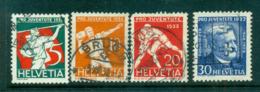 Switzerland 1932 Pro Juvente (faults) FU Lot59103 - Switzerland