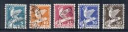 Switzerland 1932 Intl. Disarmament Conf, Bird To 60c FU - Switzerland