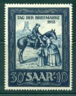 Saar 1952 Stamp Day MLH Lot38511 - 1947-56 Protectorate