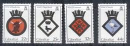 Gibraltar 1989 Royal Navy Crests MUH - Gibraltar
