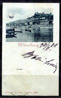 CARTOLINA CV2400 GERMANIA GERMANY Würzburg 1901 Mignon (cm. 5 X 8), Viaggiata Per L'Italia, Formato Piccolo, Francobollo - Wuerzburg
