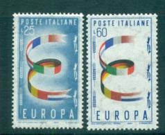 Italy 1957 Europa, Allegories MUH Lot65276 - 6. 1946-.. Republic