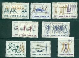 Yugoslavia 1959 Olympic Sports Asst MLH/FU Lot40483 - Yugoslavia