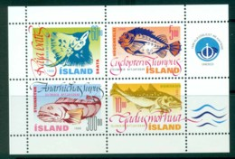 Iceland 1998 Fish MS MUH Lot32457 - 1944-... Republic