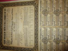 Obligation De 350 Frcs Au Porteur à Intérêt Variable/Crédit Foncier Du Brésil Et De L'Amérique Du Sud/ 1940    ACT218 - Banque & Assurance