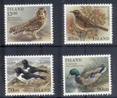 Iceland 1987 Birds MUH - Unused Stamps