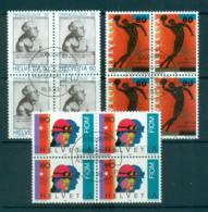 Switzerland 1993, Paracelsus, Olympic Museum, Metalworkers Blk 4 CTO Lot59022 - Switzerland