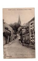 CPA 41 - Morée ( L Et Ch ) - Rue Pittoresque Et Avenue De L'eglise - France