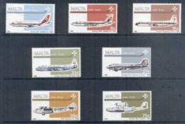 Malta 1984 Air Mail, Airplanes MUH - Malta