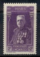 Monaco 1937 Welfare Prince Louis II 2+2f MUH - Non Classés