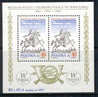 Poland 1986 World Post Day MS MUH - 1944-.... Republic