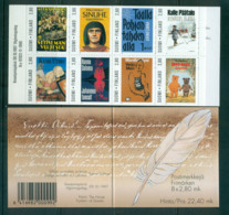 Finland 1997 Finnish Writers Booklet MUH Lot66945 - Unused Stamps