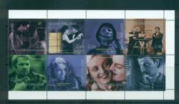 Finland 1996 Cinema Cent. Booklet Pane MUH Lot67568 - Unused Stamps