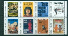 Finland 1997 Finnish Writers Booklet Pane MUH Lot67083 - Unused Stamps