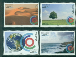 Malta 2008 International Year Of Planet Earth MUH Lot23575 - Malta
