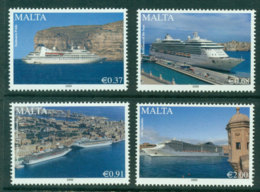 Malta 2009 Maritime Cruise Liners Pt 2 MUH Lot23585 - Malta