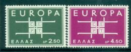 Greece 1963 Europa, Interlock Links MUH Lot65355 - Greece
