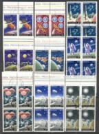 Romania 1972 Apollo Space Program Highlights Blk4 CTO - 1948-.... Republics