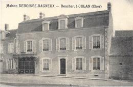 CULAN  (18-Cher)  Boucherie DEBOISSE-BAGNEUX - France