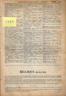 Annuaire - BELGIQUE - Année 1889 - 1896 - 1910 - 1922 - Quatre Années - édition Didot-Bottin - Annuaires Téléphoniques