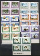 Poland 1984 Polish Aviation Blk4 MUH - Unused Stamps