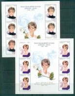 Azerbaijan 1998 Princess Diana In Memoriam 2xMS MUH Lot81995 - Azerbaïjan