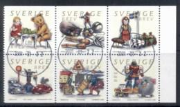 Sweden 2000 Toys Booklet Pane FU - Sweden