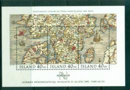 Iceland 1990 NORDIA '91 MS MUH Lot57400 - 1944-... Republic