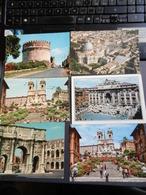 19879) ROMA LOTTO DI SEI CARTOLINE VIAGGIATE - Roma (Rome)