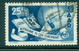 Saar 1950 Council Of Europe FU Lot38469 - 1947-56 Protectorate