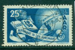 Saar 1950 Council Of Europe FU Lot38470 - 1947-56 Protectorate
