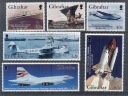 Gibraltar 2003 Powered Flight Cent MUH - Gibraltar