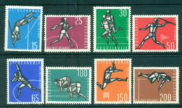 Yugoslavia 1962 European Athletics MLH Lot40507 - Yugoslavia