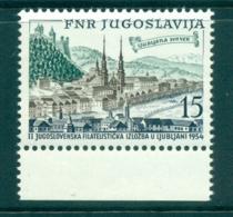 Yugoslavia 1954 Philatelic Exhibition MUH Lot40668 - Yugoslavia