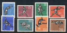 Yugoslavia 1962 European Athletics MUH - Yugoslavia