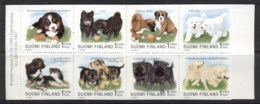 Finland 1997 Dogs, Puppies Booklet MUH - Unused Stamps
