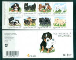 Finland 1998 Dogs, Puppies Booklet MUH Lot66953 - Unused Stamps