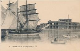 CPA - Afrique  Egypte - Port-Saïd - Navy-house - Port-Saïd