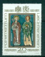Liechtenstein 1979 Patron St. Lucius MUH Lot58304 - Liechtenstein