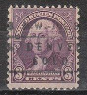 USA Precancel Vorausentwertung Preo, Locals Colorado, Denver 720-L-9 IHS, Var 1 - Vereinigte Staaten