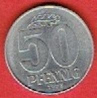 DDR  #   50 Pfennig FROM 1973 - [ 6] 1949-1990 : GDR - German Dem. Rep.