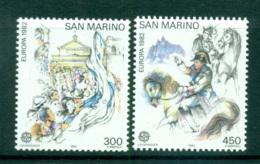 San Marino 1982 Europa, History MUH Lot65857 - Unused Stamps
