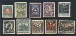 Armenia 1922 Pictorials MUH - Armenia