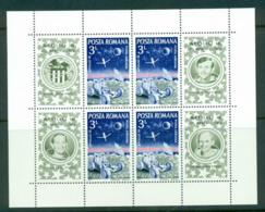 Romania 1971 Apollo 16 Moon Mission MS MUH Lot57422 - 1948-.... Republics