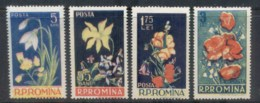 Romania 1956 Flowers MLH - 1948-.... Republics