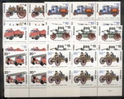 Poland 1984 Fire Engines Blk6 MUH - 1944-.... Republic