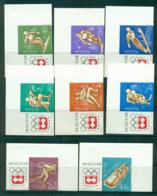 Hungary 1963-64 Winter Olympics Innsbruck IMPERF MUH Lot37698 - Hungary