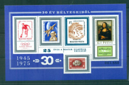 Hungary 1975 UPU Centenary/Filatelica MS IMPERF MUH Lot56449 - Hungary