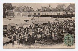 - CPA ROMORANTIN (41) - La Place Du Marché 1905 (grande Animation) - Photo Neurdein N° 98 - - Romorantin