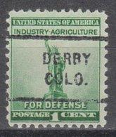 USA Precancel Vorausentwertung Preo, Locals Colorado, Derby 712 - Vereinigte Staaten